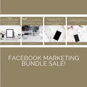 Facebook Marketing Bundle Sale