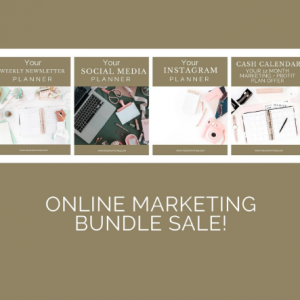 Online Marketing Bundle Sale