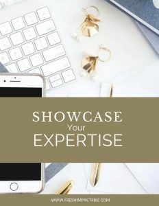 Showcase Your Expertise Planner and E book